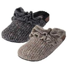 Knitted Slipper Shoes