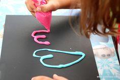3 Ingredient DIY Puffy Paint