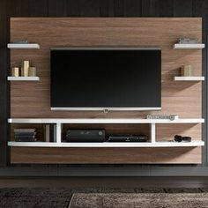 Riana Entertainment /& TV Unit Living Room Conservatory Storage Solutions Family Open Shelves Cubic Design Drawers Shelf Cupboard