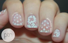 31DC2013 Day 15 - Delicate Print by Paper Thin Nails, via Flickr