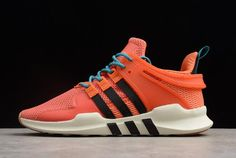 007b5c6f37fab 2018 Mens adidas EQT Support ADV Trace Orange Running White Gum Sneakers  Adidas Men