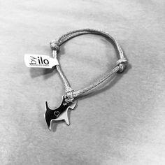 Dog heart bracelet by ilo