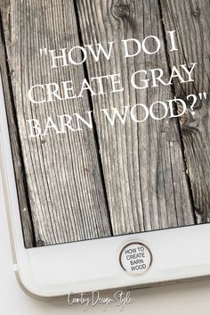 Aging Wood Instantly new wood like barn wood. & Country Design Style Aging Wood Instantly, new wood like barn wood. & Country& The post Aging Wood Instantly, new wood like barn wood. & Country Design Style appeared first on Cassidy Woodworking. Barn Wood Crafts, Old Barn Wood, Wood Wood, Weathered Wood, Country Wood Crafts, Barn Wood Decor, Stain Wood, Barn Wood Walls, Barn Wood Shelves