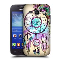 Fincibo (TM) Samsung Galaxy Ace Style S765C Protector Cover Case Snap On Hard Plastic - Multicolor Dream Catcher, Front And Back:Amazon:Cell Phones & Accessories