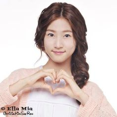 ♥ Healthy Girls, Child Actors, Korean Drama, Hearts, Hairstyle, Pretty, Women, Good Looking Women, Hair Style