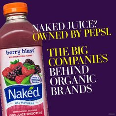 Your favorite organic brand is actually owned by a multinational food company. - The Washington Post