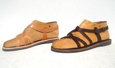ANANIAS mens handmade leather sandals in natural, brown or black (the natural color will change with age to a beautiful golden brown patina). Leather Sandals, Men's Sandals, Spring Summer 2018, Handmade Leather, Greece, Footwear, Natural Brown, Golden Brown, Age