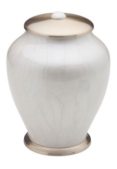 Simplicity Brass Urn (Mother of Pearl) - HU405 - Manufactured to the highest quality at affordably low prices ordering could not be easier. Visit http://coffincompany.co.uk/urns/serenity-simplicity-urns