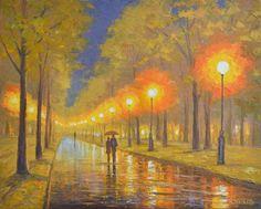 Evening double by Rimantas Virbickas