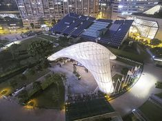 ZCB Bamboo Pavilion / The Chinese University of Hong Kong School of Architecture