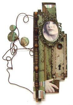 More wire/assemblage by joel armstrong, via Behance