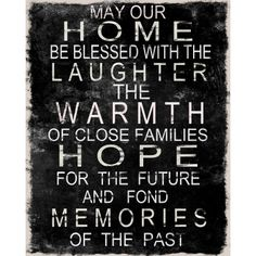 Home Blessing Sign