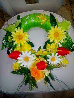 Floral Wreath, Wreaths, Fall, Home Decor, Autumn, Homemade Home Decor, Door Wreaths, Deco Mesh Wreaths, Garlands