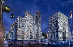 Catedral de Florencia / The Basilica di Santa Maria del Fiore, Florence, Italy | Flickr: Intercambio de fotos
