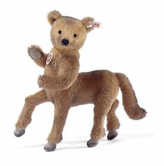 The Alpaca Teddy Taurus, A Bizarre Half-Teddy Bear and Half-Horse Stuffed Toy