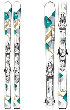THE SALOMON BAMBOO   Lively, strong all-mountain ski for women. Bamboo is a reliable and playful performance ski, designed to explore the whole mountain with a bit more pop.