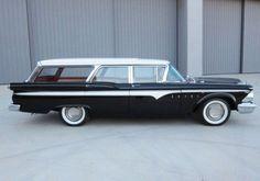 Formal Wear: 1959 Edsel Villager Station Wagon | Bring a Trailer