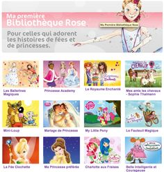 Bibliothèque rose, site internet des éditions Hachette