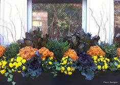 Autumn floral designs