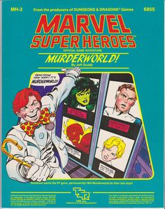MH-3: Murderworld! for Marvel Super Heroes. I had a ton of fun with this though it only really works with the Fantastic Four