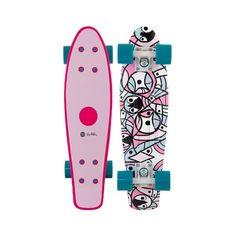 Pendleton Wave Pink Skateboard Complete