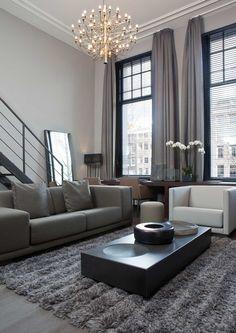 White curtains, interior design | Huis en inrichting | Pinterest ...