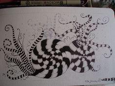 Jane Monk Studio Zentangle Shades of Gray