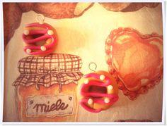 ciondoli ciambelline con glassa alla fragola