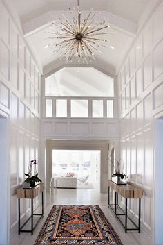 10 most popular light for stairways ideas tags led staircase love the chandelier for our entry stunning two story foyer white moulding on walls wood side tables gladiator spiked chandelier aloadofball Choice Image