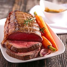 Invite the family over for a delicious Sunday roast and spoil them with this Lemon, Honey & Rosemary Beef Fillet recipe from They'll be begging for more. Beef Rib Roast, Beef Ribs, Beef Fillet Recipes, Irish Beef, Horseradish Cream, Sunday Roast, Irish Recipes, Cream Recipes, Steak