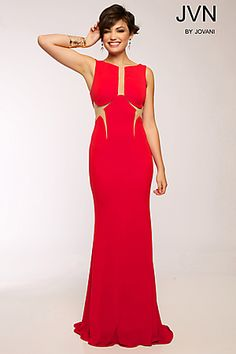 Jersey Fitted Dress JVN99016