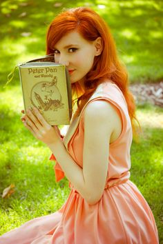 Peter Pan Book Clutch by Etsy artist psBesitos (no books are harmed in the making of these purses. Book Purse, Book Clutch, Clutch Bag, Senior Portraits, Senior Pictures, Book Photography, Portrait Photography, Peter Pan Book, Raven Pictures