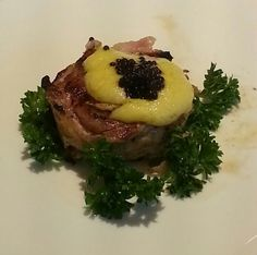 Medallion Steak with Caviar Sauce at NIU