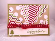 stampin' up christmas thank you cards - Google Search