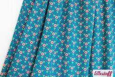 Lillestoff » Mini Bloom « // hier erhältlich: http://www.lillestoff.com/minibloom-petrolorange.html