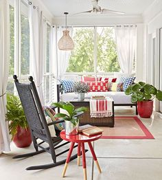 BHG Front Porch Ideas-Think Outside the box