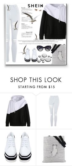 """""""Untitled #1066"""" by selmabjelic ❤ liked on Polyvore featuring Topshop, STELLA McCARTNEY and La Perla"""