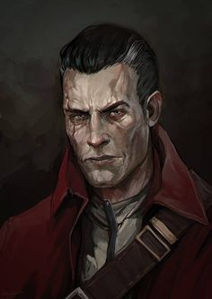 Daud by LoranDeSore on DeviantArt Fantasy Character Design, Character Concept, Character Inspiration, Character Art, Fantasy Male, Fantasy Rpg, Dark Fantasy, Dungeons And Dragons Races, Dungeons And Dragons Homebrew