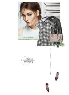 """""""*"""" by makica-brate ❤ liked on Polyvore featuring Prada, 3.1 Phillip Lim, Paul Andrew, Nearly Natural, Abercrombie & Fitch, Coach, Margot & Me and Linda Farrow"""