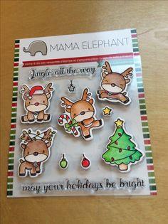 Mama Elephant/Hampton Arts Reindeer Fun