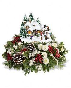 Thomas Kinkade Christmas Centerpiece 2020 Englewood Nj 8 Tele flora Christmas candy dish ideas | christmas, christmas