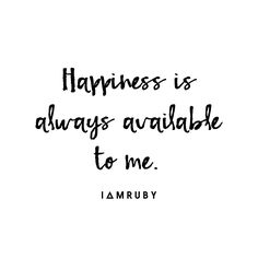 Say it with me... #affirmation #happiness
