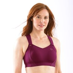 Juno Racerback Sports Bra | Moving Comfort If you have big boobies, then this is the bra for you!