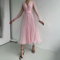 Prom Dresses Long Pink, Prom Dresses Long With Sleeves, Tulle Prom Dress, Short Dresses, Formal Dresses, Club Dresses, Chiffon Dress, Silk Dress, Elegant Dresses