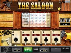 The western themed poker is accomplished work by the World Match gaming company. It has been developed in 2003. They have been working on the various games, from the pokies, pokers and machine games. Starting from the Malta, as a company who is described as a young and successful one, they have managed to expand their work on other fields. http://free-slots-no-download.com/worldmatch/5499-the-saloon-hd/