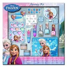 Disney Frozen Elsa and Anna Cosmetics Box Set. For order or details click on the image!