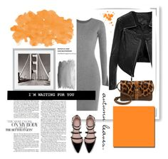 """""""orange is the new black."""" by tatjana ❤ liked on Polyvore featuring Linea Pelle, Bomedo, Patricia Nash, Alexander Wang, Zara and Eichholtz"""