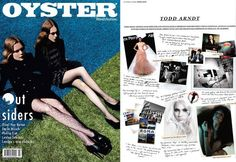 Oyster mag layout