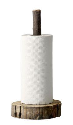 Wooden Paper Holder | Plümo Ltd
