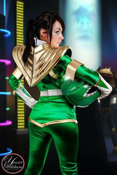Soni Aralynn as the Green Power Ranger